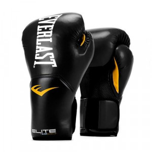 Перчатки боксерские Everlast New Pro Style Elite, Black, 14 OZ Everlast