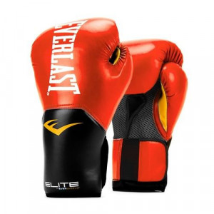 Перчатки боксерские Everlast New Pro Style Elite, Red, 10 OZ Everlast