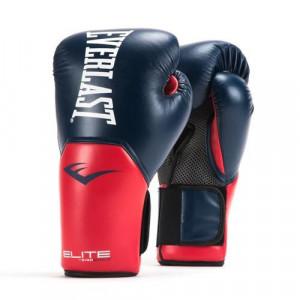 Перчатки боксерские Everlast New Pro Style Elite, Blue/Red, 10 OZ Everlast
