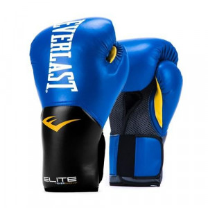 Перчатки боксерские Everlast New Pro Style Elite, Blue, 12 OZ Everlast