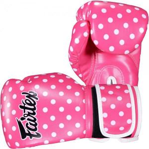 Боксерские перчатки Fairtex POLKA, 14 OZ Fairtex