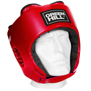 Детский боксерский шлем orbit, Красный Green Hill