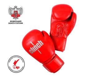 Перчатки боксерские Clinch Olimp Plus красные, 10 унций Clinch Gear