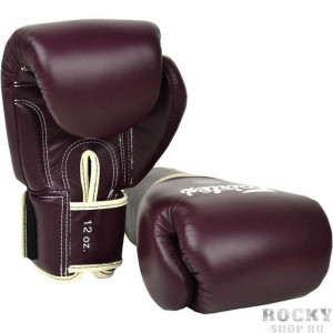 Боксерские перчатки Fairtex BGV16 Maroon, 16 OZ Fairtex