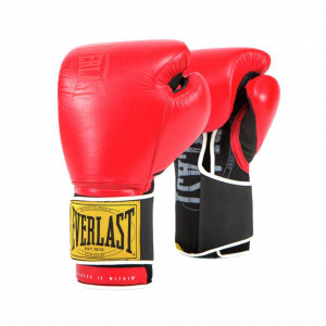 Боксерские перчатки Everlast 1910 Classic Red, 16 OZ Everlast