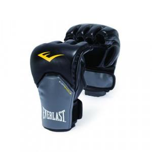 Перчатки MMA Everlast Competition Style , черно-серые Everlast