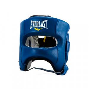 Боксерский шлем с бампером Everlast Elite, Синий Everlast